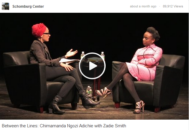 Between the Lines: Chimamanda Ngozi Adichie with Zadie Smith
