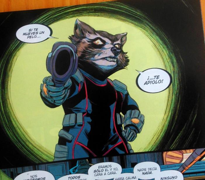 guardianes de la galaxia comics