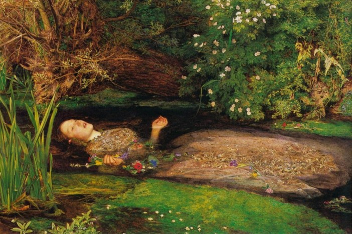 ophelia drowning millais
