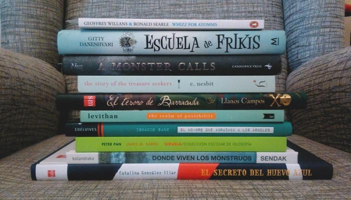 Libros para nenes en Marzo.